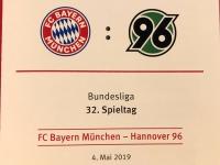 FC Bayern gegen Hannover 96