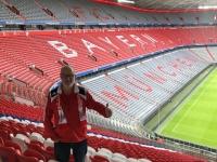 Schriftzug FC Bayern München