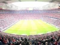 Wie immer ist die Allianz Arena voll