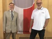 BH von Vöcklabruck Dr Martin Gschwandtner und Gerald Stutz ASVOÖ
