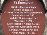 Basilika St Emmeram Schild