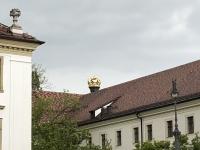 Fürstenkrone auf dem Dach