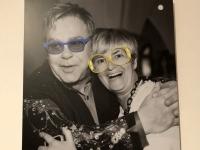 Fürstin Gloria von Thurn und Taxis mit Elton John