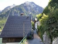 Die alte Strasse von Hallstatt