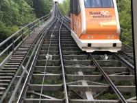 Salzbergbahn Abfahrt