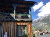 Typisches Holzhaus vom Salzkammergut