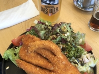 5 Finger Salat mit Hallstattbier