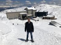 Blick auf die Bergstation zurück