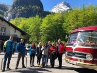 Gruppenfoto mit Dachsteinbahn