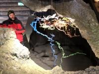 Modell der Mammuthöhle