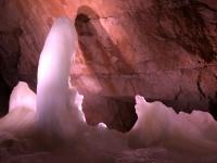 Markenzeichen der Rieseneishöhle