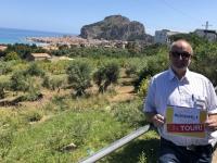 2019 05 30 Cefalu von oben Sizilien Reisewelt on Tour