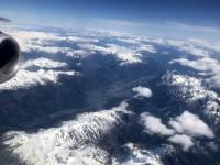 2019 05 24 Über den Wolken beim Hinflug