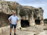 2019 05 25 Syrakus Archäologische Ausgrabungen oberhalb Theater