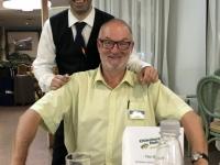 2019 05 26 Oberkellner im Hotel Sporting Baia