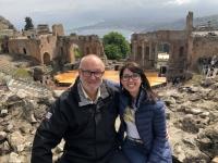 2019 05 26 Taormina Griechisches Theater mit RLin Gloria