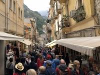 2019 05 26 Taormina mit vielen Touristen