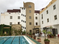 2019 05 27 Agrigent Hotel Tre Torri Innenhof