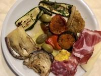 2019 05 27 La Ruota Restaurant Piazza Armerina Sizilien Brettljause