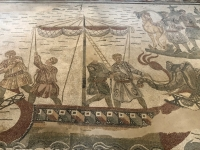 2019 05 27 Piazza Armerina Villa Casale mit wunderschönen Mosaiken