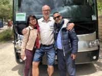 2019 05 27 RLin Gloria und Busfahrer Michele