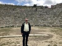 2019 05 28 Segesta Griechisches Theater Bühne