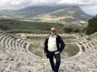 2019 05 28 Segesta Griechisches Theater mit schönem Ausblick