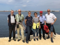 2019 05 29 Palermo Gruppenfoto am Hafen