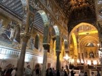 2019 05 29 Palermo Königlicher Palast vor wunderschöne Kapelle Palatina