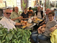 2019 05 29 Palermo Mittagssnack Bar Liberty am Piazza Bologni