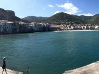 2019 05 30 Cefalu von der Hafenmauer aus