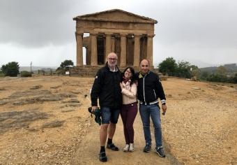 2019 05 27 Archäologische Stätten von Agrigent RLin Gloria und RL Luigi