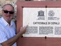 Italien Arabisch normanisches Palermo und Kathedralen von Cefalu Tafel