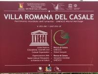 Italien Römische Villa von Casale Tafel 1