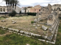 Italien Syrakus und Felskammergräber Pantalica Kopfbild 1