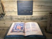 Riesenbibel aus dem Mittelalter