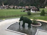 Wahrzeichen der Therme der Elefant