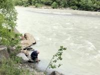 Wasserentnahme Ötztaler Ache in Sölden