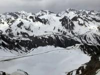 Abfahrt von 3048 Meter