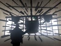 Action Hall mit einem BN2 Islander Flugzeug
