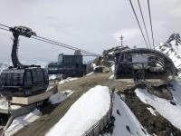 Ankunft auf der Bergstation auf 3048 Meter