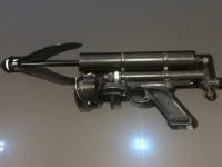 Grappling Gun in Goldfinger 1965