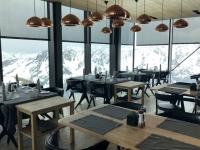 Ice Q Restaurant mit tollem Ausblick