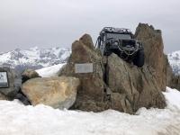 Land Rover aus der Verfolgungsjagd