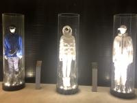 Legacy Gallery mit Ausstellungsstücken