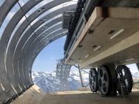 Moderne Bergstation