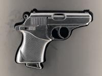 Pistole Walther PPK 9 mm verwendet in Skyfall 2012