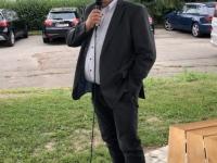 Bürgermeister Herbert Ollinger bei der Begrüssung