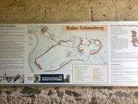 Ruine Schaunberg Hartkirchen Lageplan