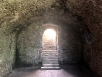 Ruine Schaunberg Kellergewölbe